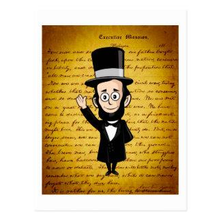 Abe honesto y su dirección de Gettysburg Postal
