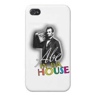 Abe In Da House Cases For iPhone 4