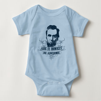 Abe Is Honest Be Abesome Baby Bodysuit