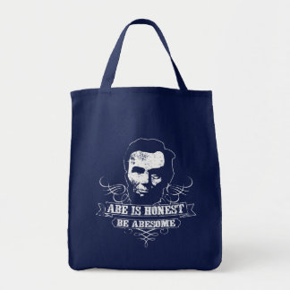 Abe Is Honest Be Abesome Tote Bag