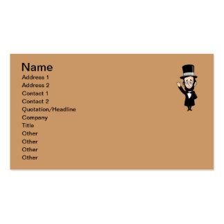 Abe Lincoln and the Emancipation Proclamation Business Card
