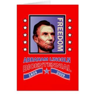 Abe Lincoln - Bicentennial Seal Card