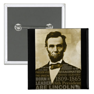 Abe Lincoln Button