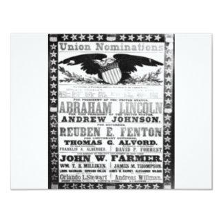 Abe Lincoln Card