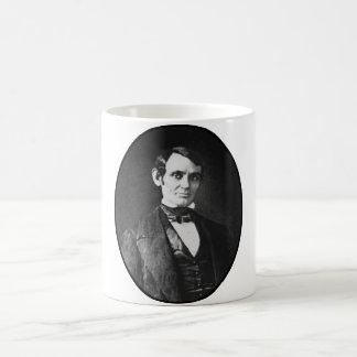 Abe Lincoln como hombre joven Taza De Café