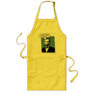 Abe Lincoln… Delantal