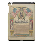 Abe Lincoln Emancipation Proclamation iPad Case