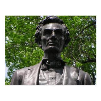 Abe Lincoln en el parque de Taylor Postal