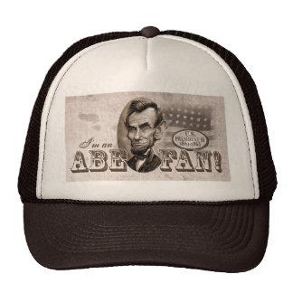 Abe Lincoln Fan Trucker Hat