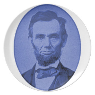 Abe Lincoln Gifts Plate