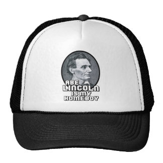 Abe Lincoln is my Homeboy Trucker Hat