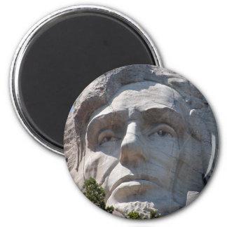 Abe Lincoln 2 Inch Round Magnet