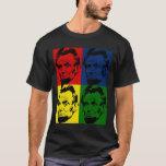 Abe Lincoln Modern 4 colors Portrait T-Shirt