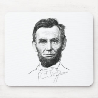 Abe Lincoln Mouse Pads