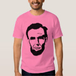 Abe Lincoln Pink Tee Shirts
