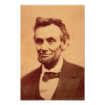 Abe Lincoln Póster