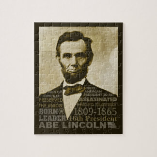 Abe Lincoln Puzzles Con Fotos