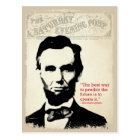 Abe Lincoln Quote Postcard