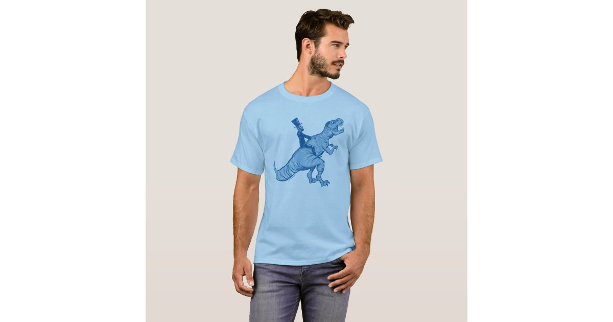 Abe lincoln riding a t rex t shirt zazzle for T shirt printing lincoln