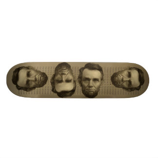 Abe Lincoln skateboard