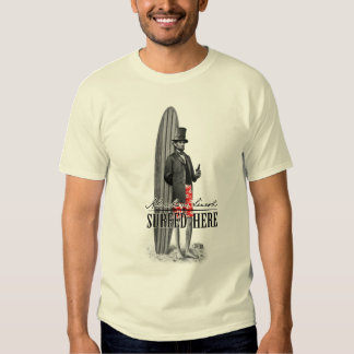 Abe Lincoln Surfer T-shirt