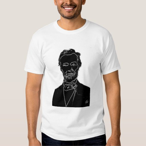 Abe lincoln t shirt zazzle for T shirt printing lincoln