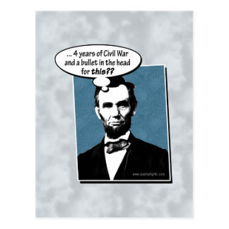 Abe Lincoln… Postal