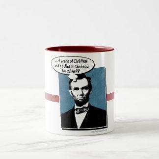 Abe Lincoln… Tazas