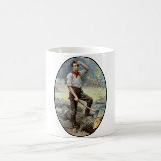 Abe Lincoln -- The Rail Splitter Coffee Mug