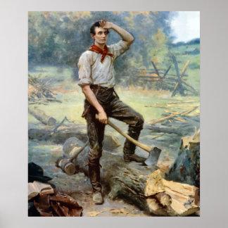 Abe Lincoln -- The Rail Splitter Poster