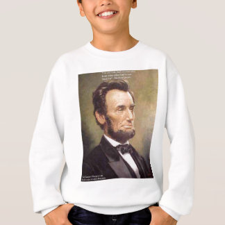 """Abe Lincoln """"Wiser"""" Quote Gifts Tees Cards Etc"""