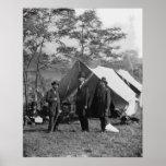 Abe Lincoln y campo de batalla Antietam de A. Pink Impresiones