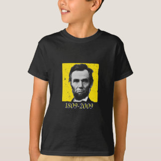 Abe Lincoln YELLOW 1809 2009 T-Shirt