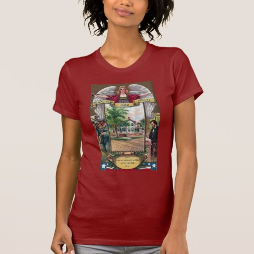 Abe Lincoln's Springfield Home Vintage T Shirt