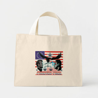 Abe-Obama-Forever-free-set-1AB Mini Tote Bag