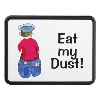 Abe R Doodle Eat my Dust! Trailer Hitch Cover