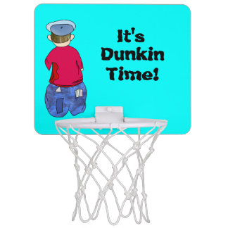 Abe R Doodle It's Dunkin Time! Mini Basketball Hoop
