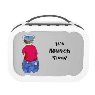 Abe R Doodle  It's Munch Time! Lunch Box
