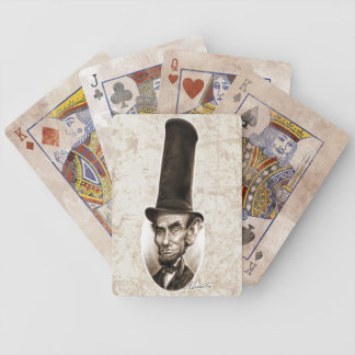 Abe Stovepipe Hat Playing Cards