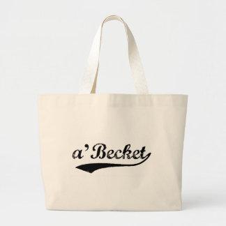 a'Becket tote bag black swoosh