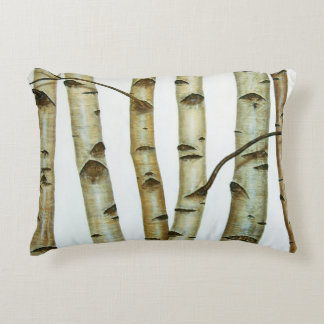 Abeduelos White Accent Pillow