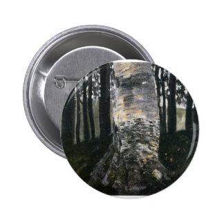 Abedul en un bosque pin redondo de 2 pulgadas