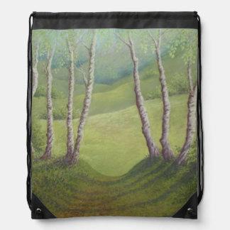Abedules en bolso de lazo del brezo de Walton de Mochila