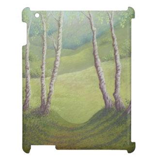 Abedules en la primavera, brezo de Walton, caso
