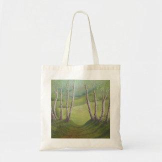 Abedules en la primavera, brezo de Walton, la