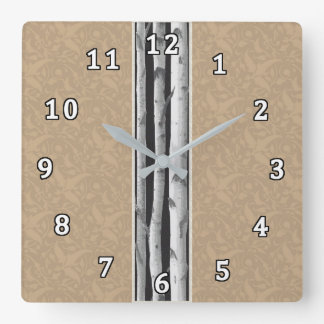 Abedules Reloj Cuadrado