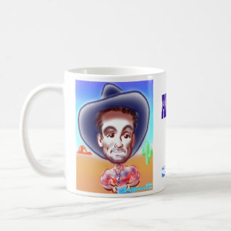 Abeed's Cowboy Caricature Mug