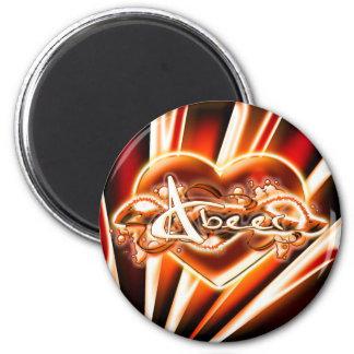 Abeer 2 Inch Round Magnet