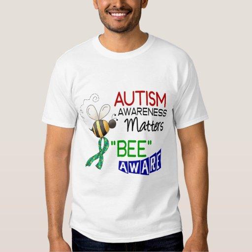 ABEJA 1 ENTERADO del autismo Remeras