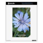 Abeja azul de la flor N de Radicchio NOOK Color Calcomanías